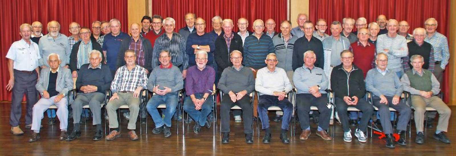 Mitglieder Männerriege Amriswil